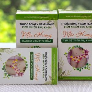 Thuốc viêm phụ khoa mộc hương viêm cổ tử cung