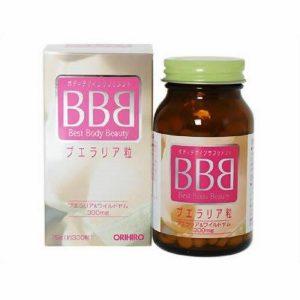 thuốc nở ngực BBB Nhật Bản
