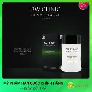 Bộ dưỡng ẩm làm trắng da dành cho nam HOMME Classic Hàn Quốc Chính Hãng