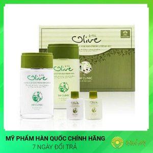 Bộ dưỡng ẩm làm trắng da dành cho nam Olive For Man Fresh Hàn Quốc Chính Hãng