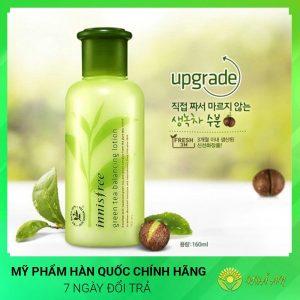 Bộ dưỡng trà xanh Green Tea Balancing Special Skin Care Hàn Quốc
