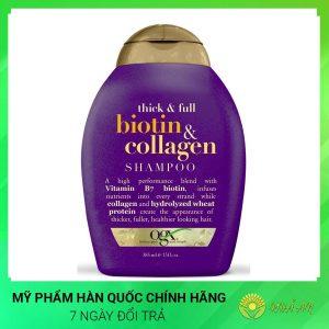 Dầu gội kích thích mọc tóc Biotin & Collagen 385ml Hàn Quốc Chính Hãng