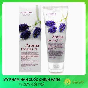 Gel tẩy tế bào chết hoa oải hương Aroma White Peeling Gel Hàn Quốc Chính Hãng