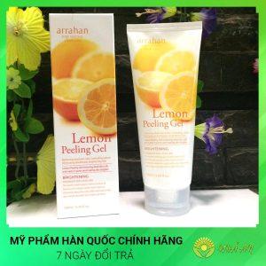 Gel Tẩy tế bào chết tinh chất chanh vàng Lemon Peeling Gel Hàn Quốc Chính Hãng