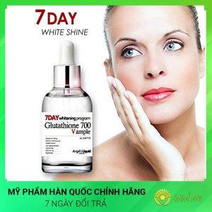 Huyết Thanh Trắng Da 7 Day Whitening Program Glutathione Hàn Quốc Chính Hãng
