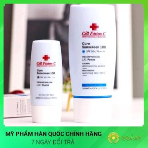 Kem chống nắng Cure SunCreen Cell Fusion C SPF 50