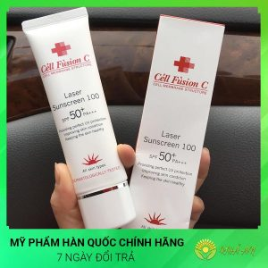 Kem Chống Nắng Laser Suncreen Cell Fusion C 100 SPF 50