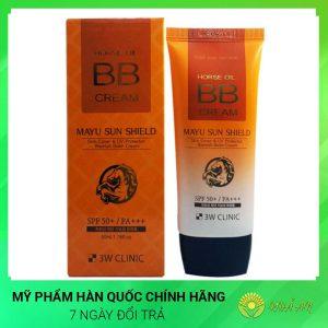 Kem nền trang điểm BB tinh chất dầu ngựa Hores Oil BB Cream Hàn Quốc Chính Hãng