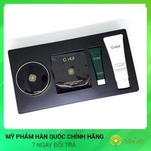 Set phấn nước OHUI Ultimate Cover Cushion Moisture Special Hàn Quốc Chính Hãng