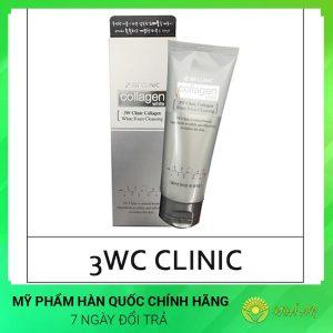 Sữa rửa mặt Collagen White foam cleansing Hàn Quốc Chính Hãng