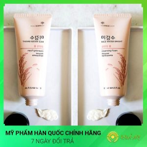 Sữa rửa mặt gạo The Face Shop Cleansing Foam Hàn Quốc Chính Hãng