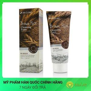 Sữa rửa mặt lúa mạch Brown Rice Cleansing Foam Hàn Quốc Chính Hãng