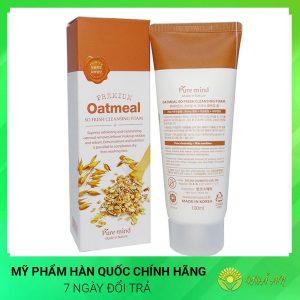 Sữa rửa mặt lúa mạch Oatmeal So Fresh Cleansing Foam Hàn Quốc Chính Hãng