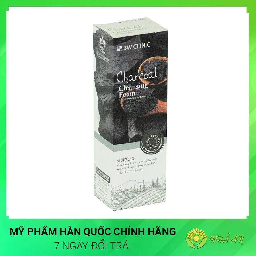 Sữa rửa mặt than hoạt tính Charcoal Cleansing Foam Hàn Quốc Chính Hãng