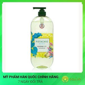 Sữa tắm Pistachio Mint body wash 900ml Hàn Quốc Chính Hãng