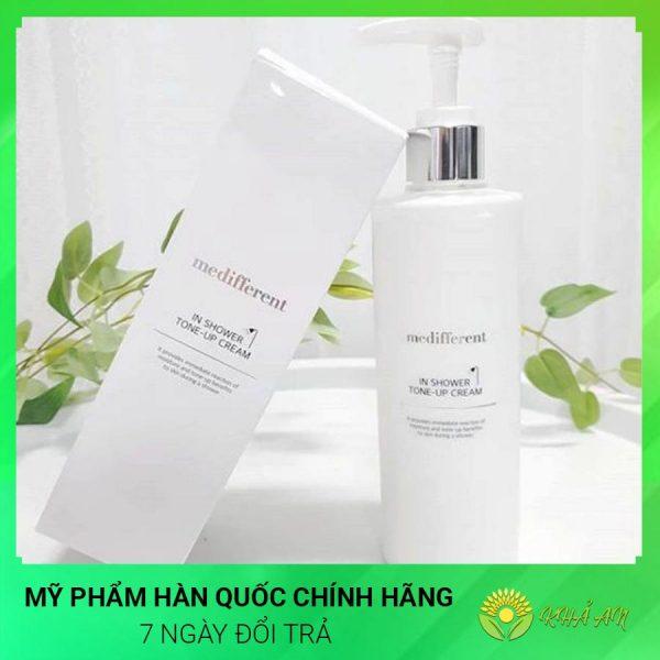 sua-tam-truyen-trang-medifferent-in-shower-tone-up-cream-han-quoc-chinh-hang