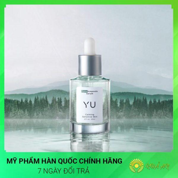 Calm tinh chất rau má dưỡng da nhạy cảm làm dịu tức thì Yu Cosmetics