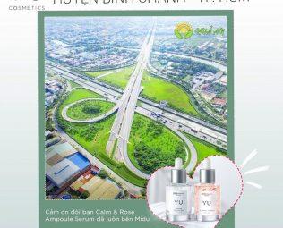 Giới thiệu về Yu Cosmetics chính hãng tại Huyện Bình Chánh TP.HCM