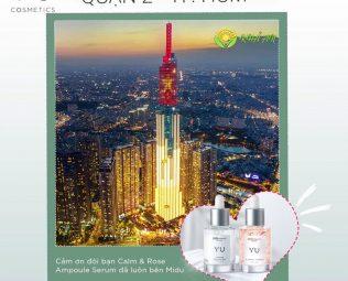 Giới thiệu về Yu Cosmetics Chính Hãng Tại Quận 2 TP.HCM