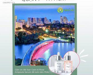 Giới thiệu về Yu Cosmetics chính hãng tại Quận 7 Tp.HCM