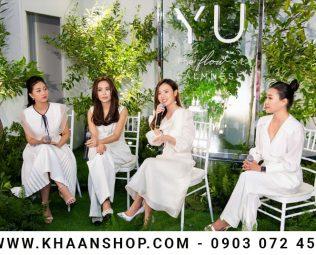 Midu ra mắt thương hiệu mỹ phẩm làm đẹp Yu Cosmetics