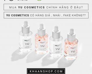 Mua Yu Cosmetics chính hãng ở đâu?