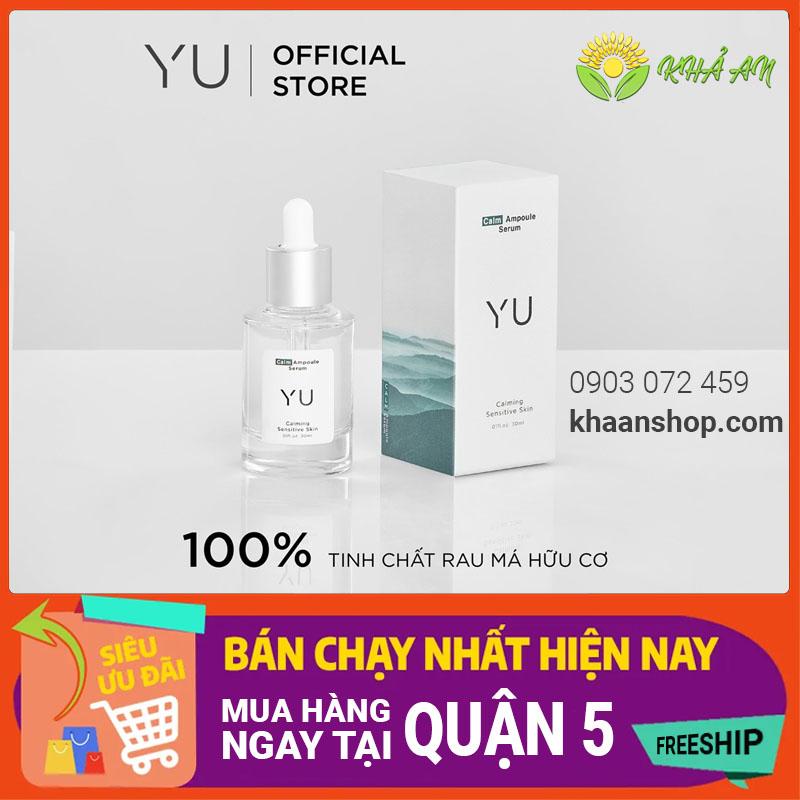 Mua Tinh Chất Rau Má Calm Ampoule Serum Yu Cosmetics chính hãng tại Quận 5 Tp.HCM