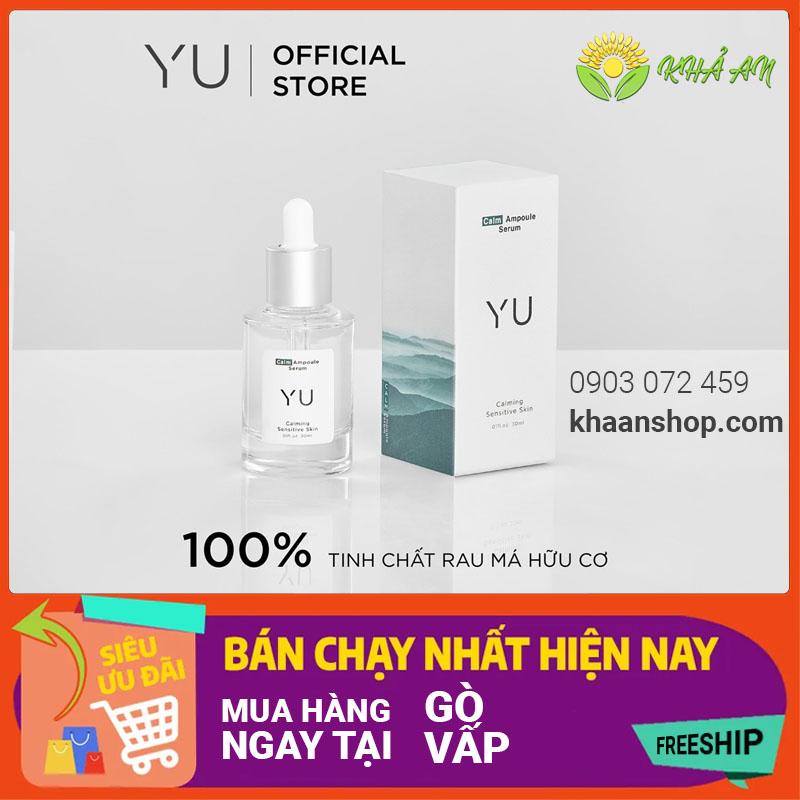 Mua Tinh Chất Rau Má Calm Ampoule Serum Yu Cosmetics chính hãng tại Quận Gò Vấp TP.HCM