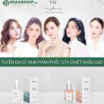 YU Cosmetics tuyển Đại Lý Kinh Doanh Mỹ Phẩm Chiết Khấu Cao
