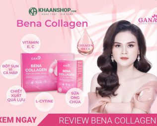 Review bột Collagen BENA GANA Beauty